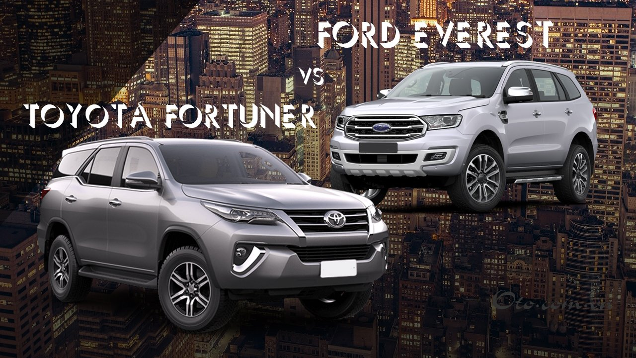 So sánh xe Ford Everest 2020 và Toyota Fortuner 2020 a1