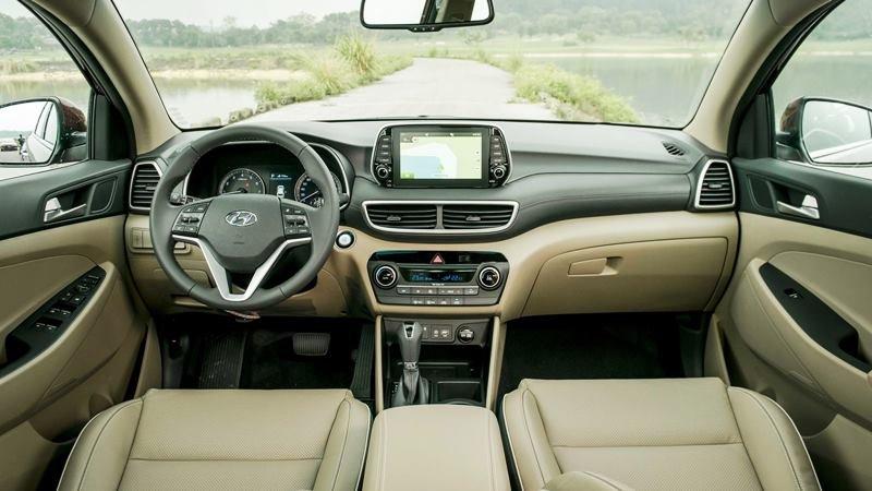 Nội thất Hyundai Tucson 2019.