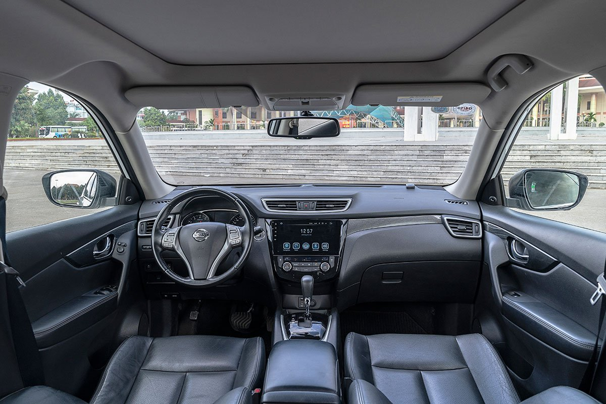 Nội thất của Nissan X Trail.