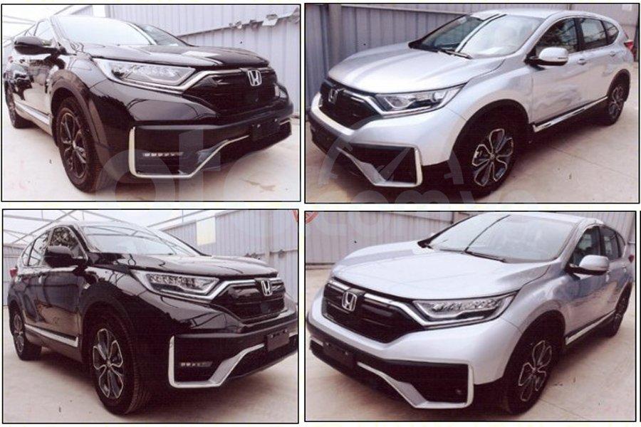 Hình ảnh Honda CR-V lắp ráp mới xuất hiện trên Cục Đăng kiểm.