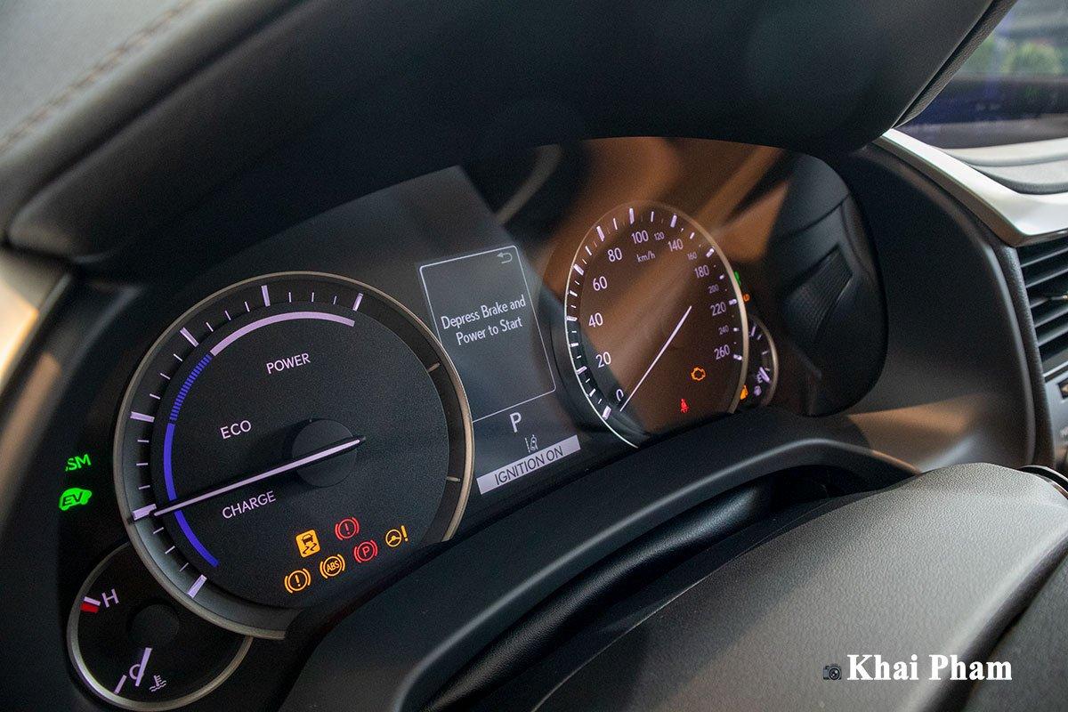 Ảnh đồng hồ xe Lexus RX 450h 2020