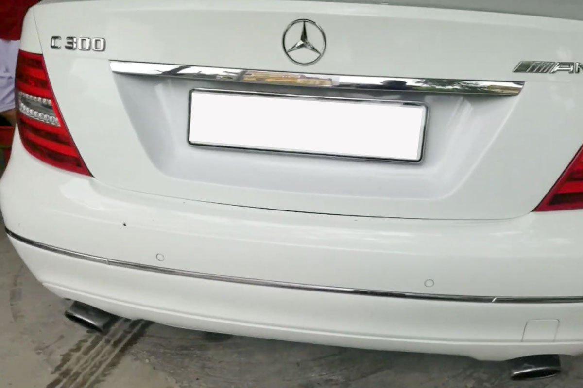 """Hơn 2 tháng thi công và 200 triệu đồng, Mercedes-Benz C 300 đời """"ơ kìa"""" biến thành xe thể thao cực ngầu a2"""