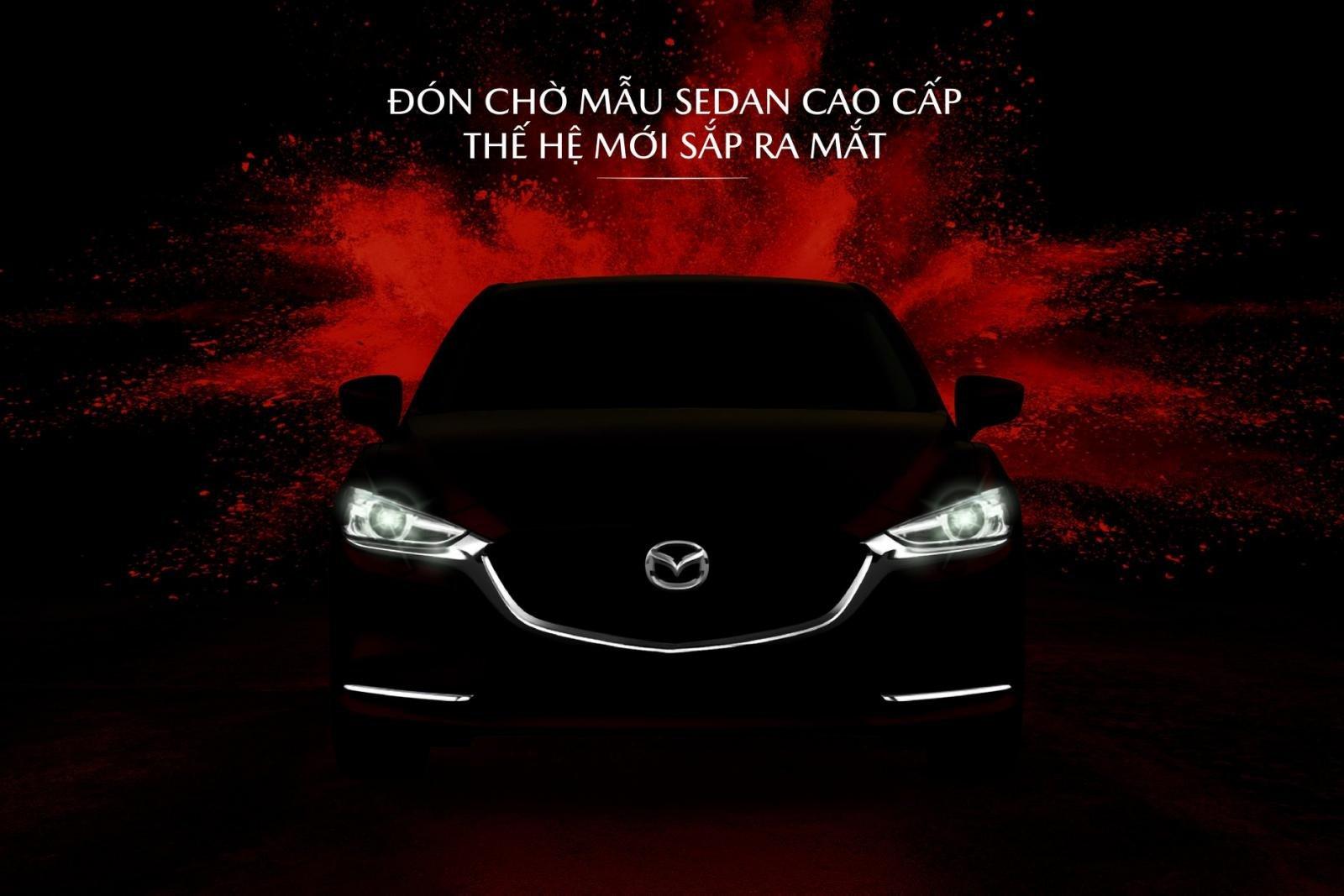 Mazda Việt Nam nhá hàng mẫu xe mới: Mazda 6 được gọi tên đầu tiên.