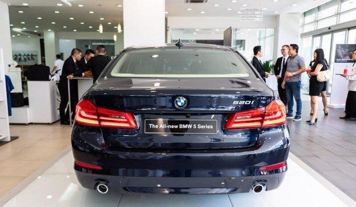 Ngoại thất BMW 5-Series 2020 mới nhất.