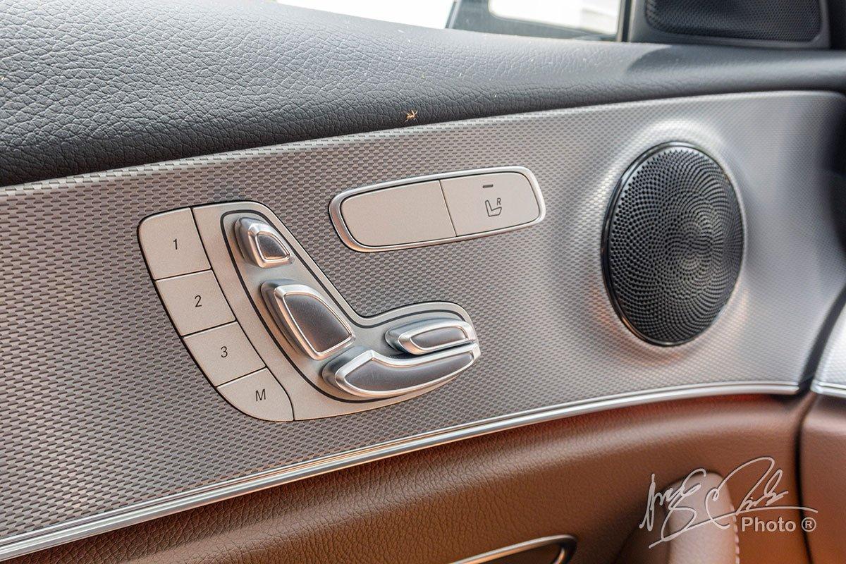 Đánh giá xe Mercedes-Benz E 180 2020: Nhớ ghế 3 vị trí.