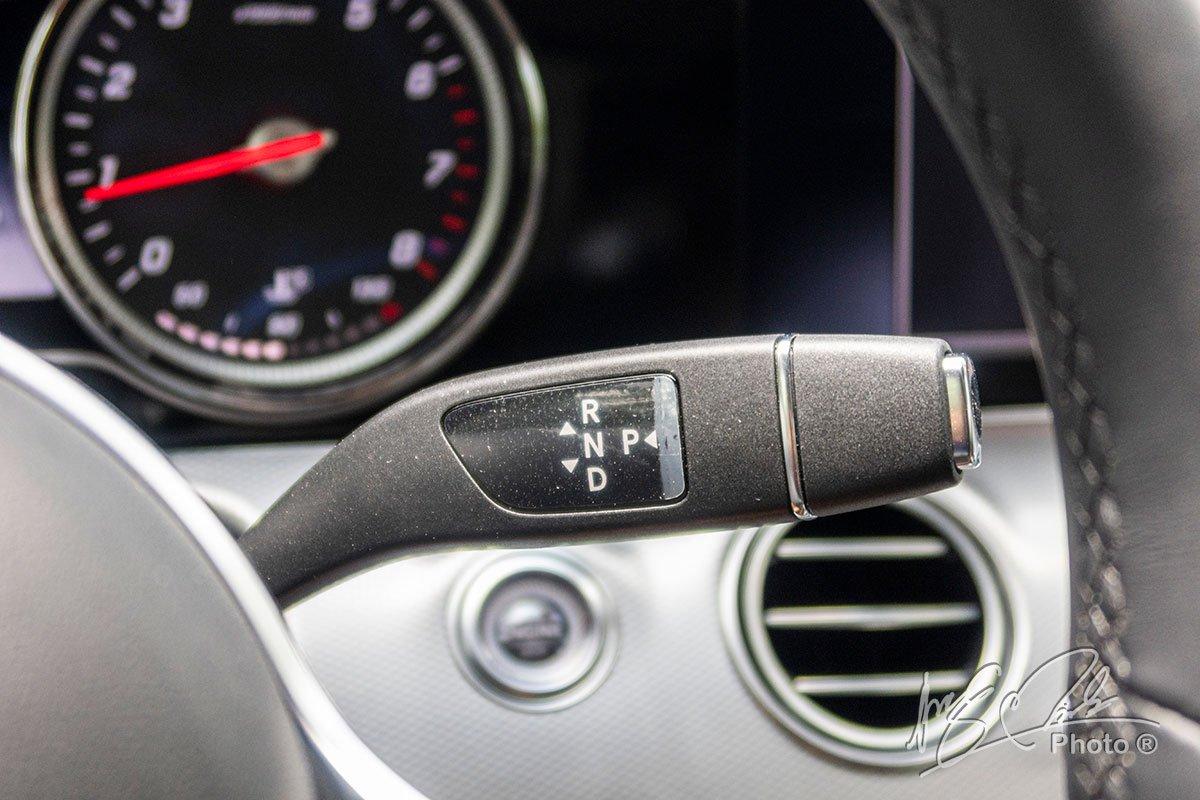 Đánh giá xe Mercedes-Benz E 180 2020: Hộp số tự động 9 cấp 9G-Tronic.