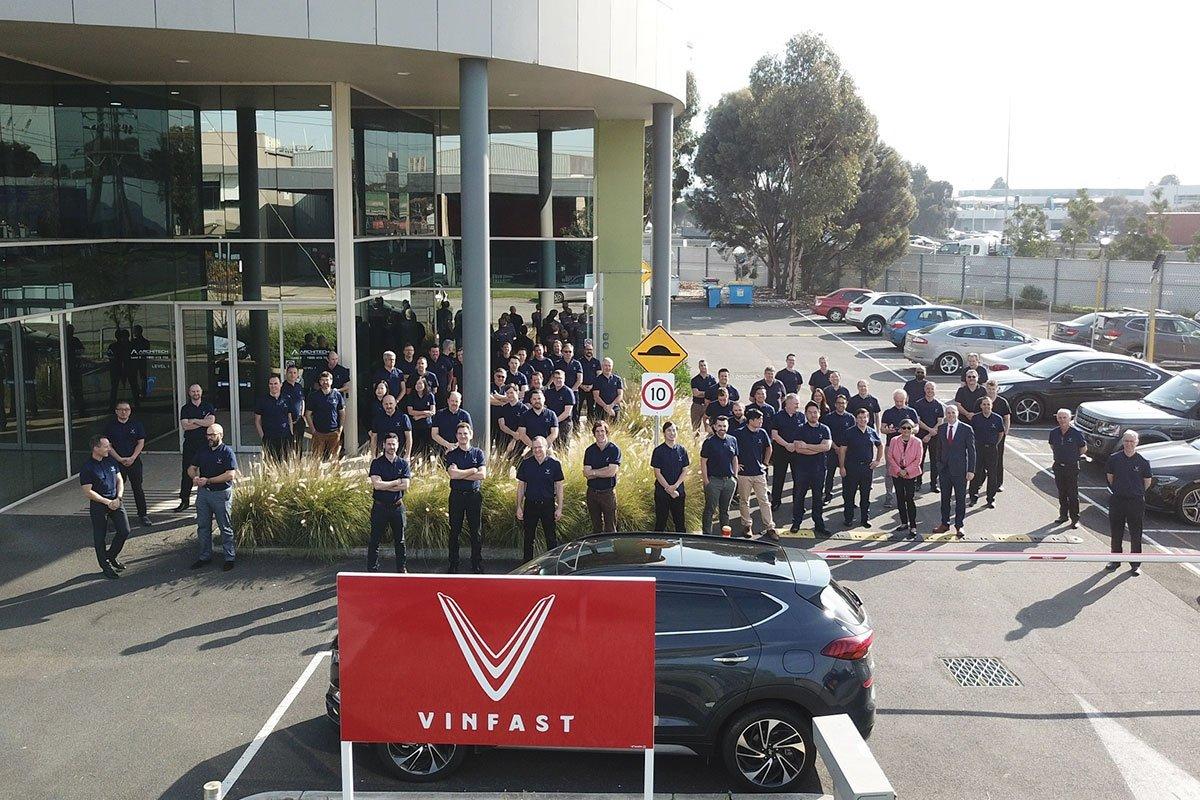 Văn phòng VinFast Australia có quy mô gần một trăm nhân sự chính thức.