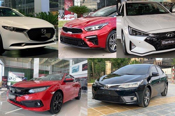 Mazda3 dẫn đầu phân khúc xe hạng C tháng 5/2020 1