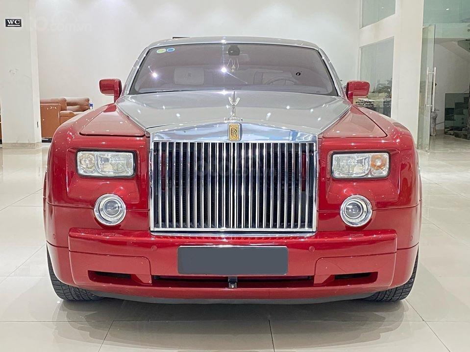 Bán xe Roll Royce Phantom EWB, bản thùng dài hiếm nhất VN, đăng kí lần đầu 2011 (2)
