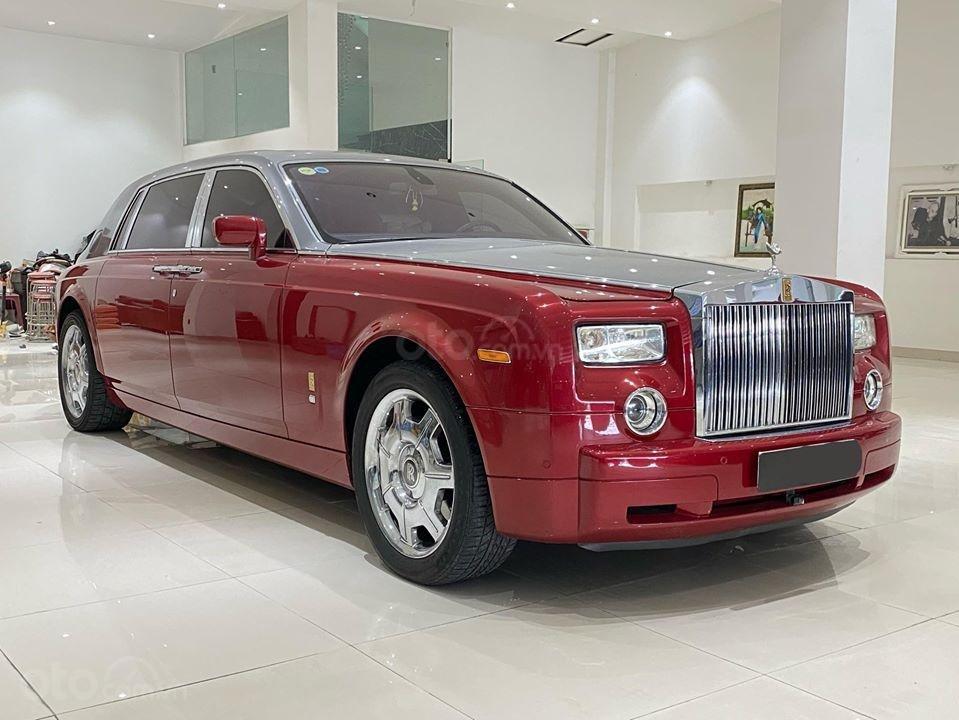 Bán xe Roll Royce Phantom EWB, bản thùng dài hiếm nhất VN, đăng kí lần đầu 2011 (1)