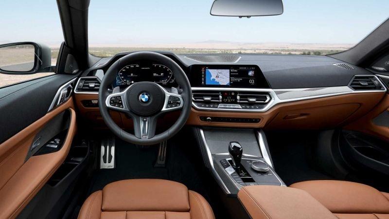 Nội thất BMW 4-Series 2021 mới.