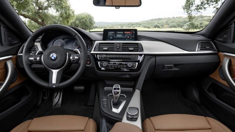Nội thất BMW 4-Series cũ.