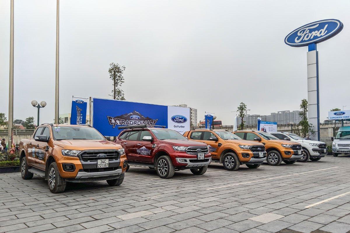 Doanh số tháng 5/2020 tăng trưởng, Ford Việt Nam thăng hạng 1