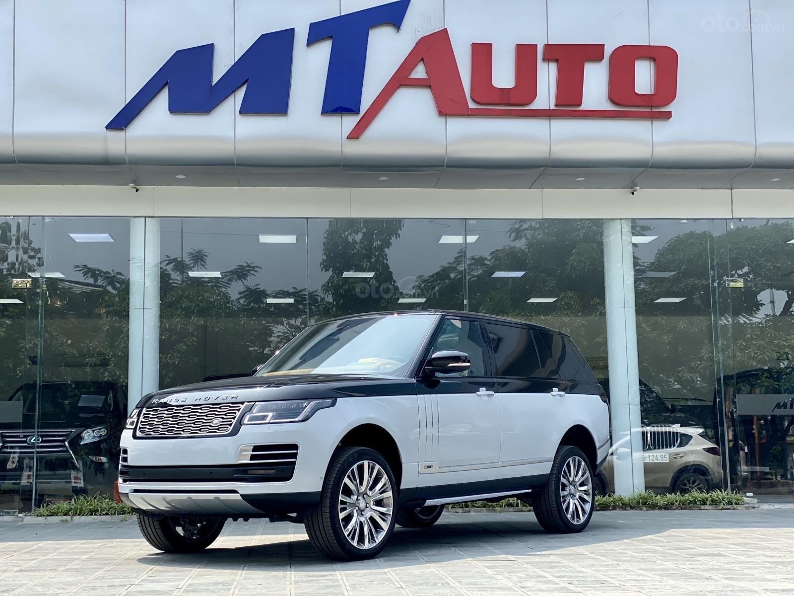 Cần bán LandRover Range Rover SV Autobio LWB 3.0 model 2020, màu trắng đen, mới 100% (1)