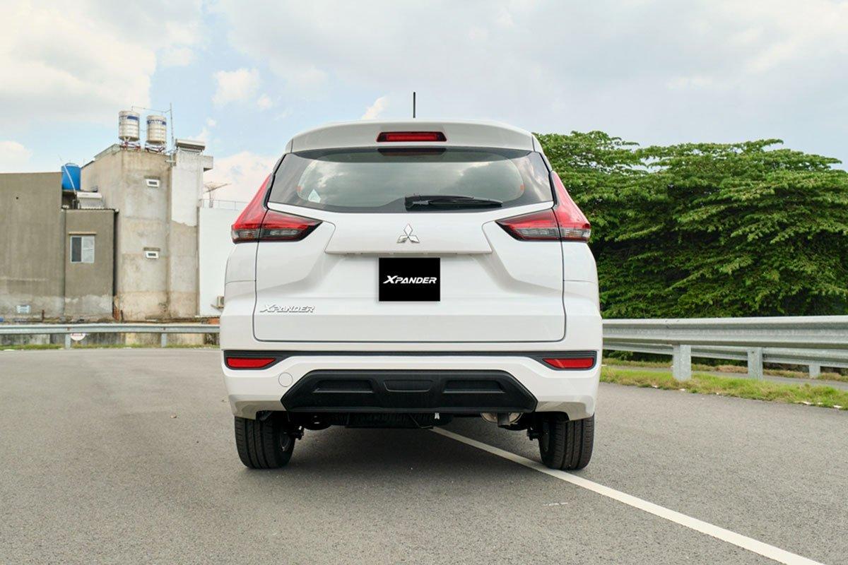 Không có sự thay đổi nào ở khu vực đuôi xe của Mitsubishi Xpander 2020 MT.