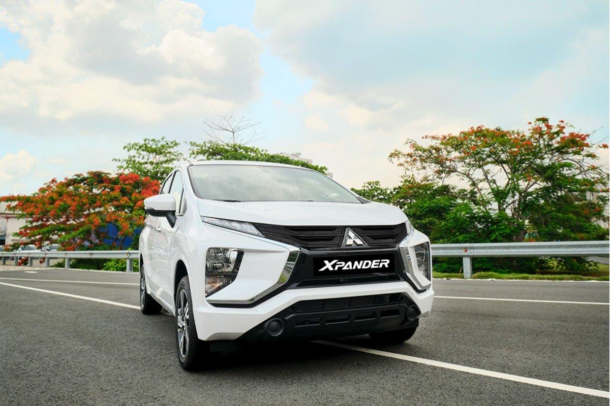 Mitsubishi Xpander MT có giá 555 triệu đồng.
