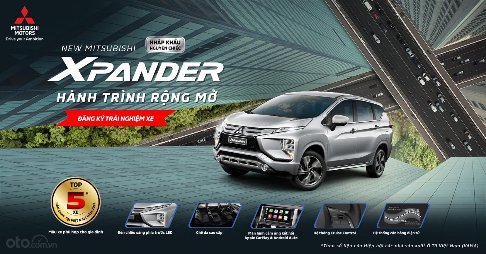 [ Hot] Mitsubishi Xpander 2020 AT, giá tốt nhất Hà Nội, hỗ trợ vay lên đến 80% giá trị xe (4)