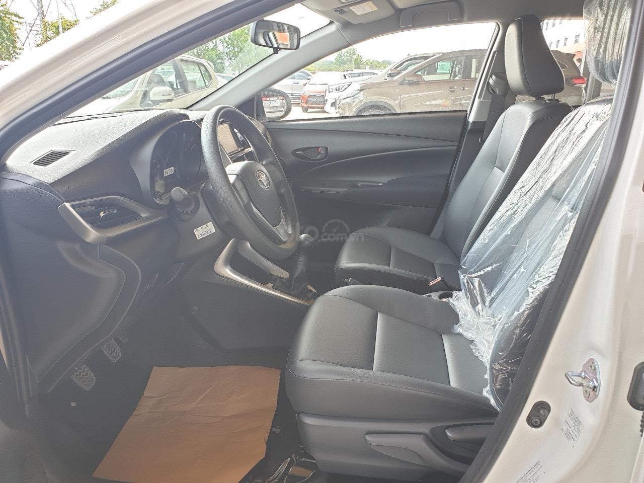 Bán Toyota Vios 1.5 số sàn 2020- vay 80% - trả 120tr nhận ngay xe (4)