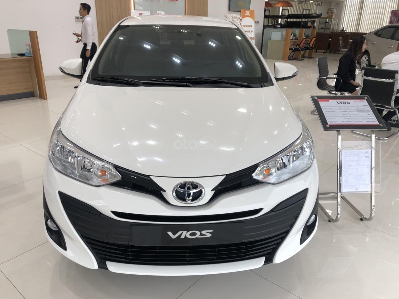 Bán Toyota Vios 1.5E CVT 2020 - bán trả góp - trả 130tr nhận ngay xe (1)