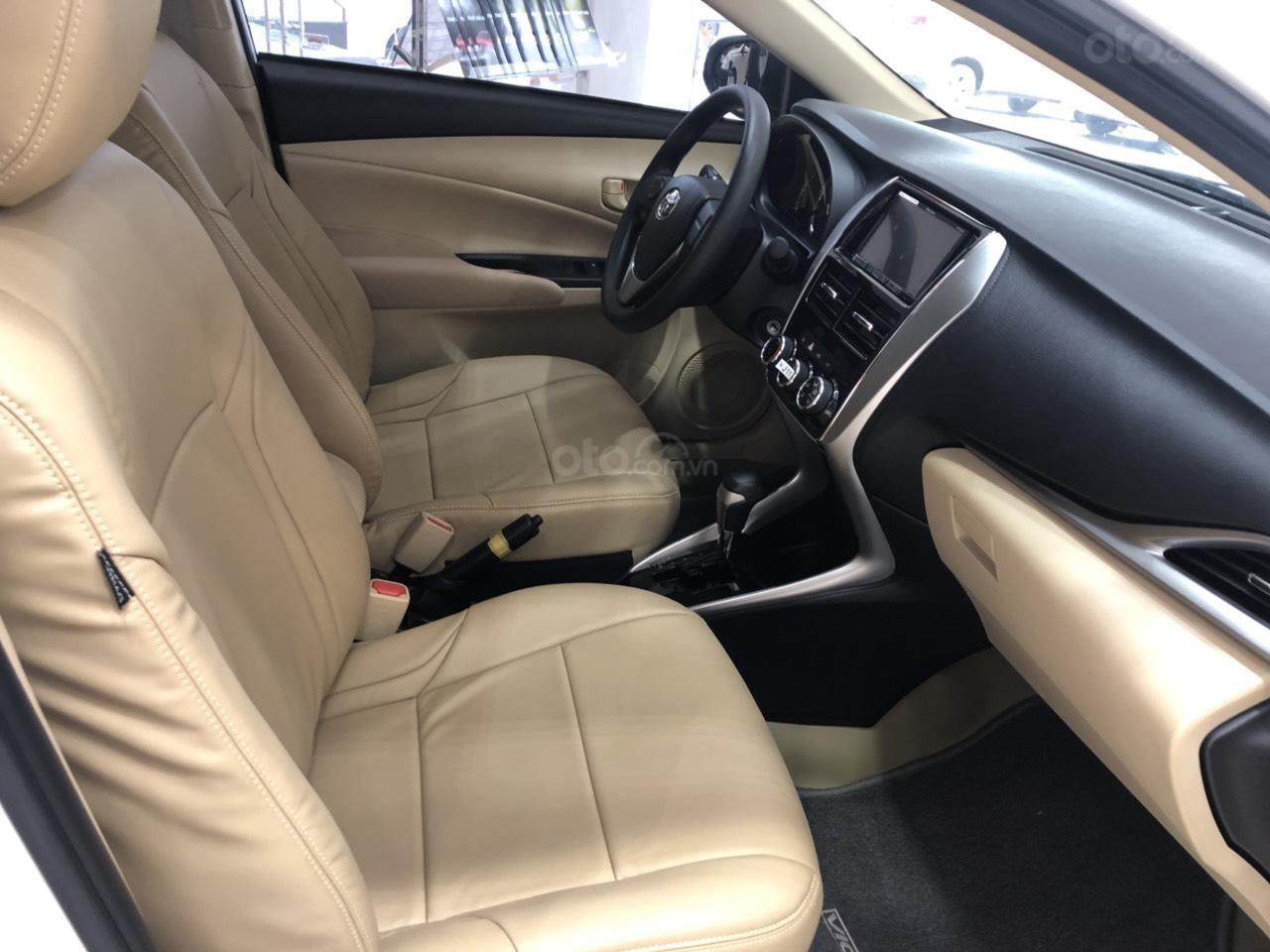 Bán Toyota Vios 1.5E CVT 2020 - bán trả góp - trả 130tr nhận ngay xe (4)