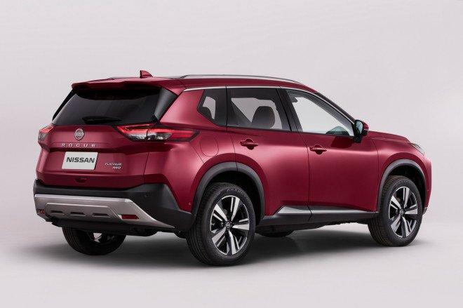 Nissan X-Trail 2021 mớihầm hố hơn.