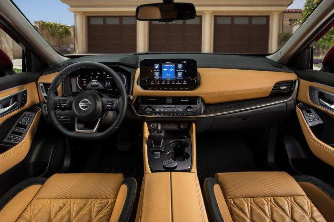 Nissan X-Trail 2021 mới trang bị hiện đại.