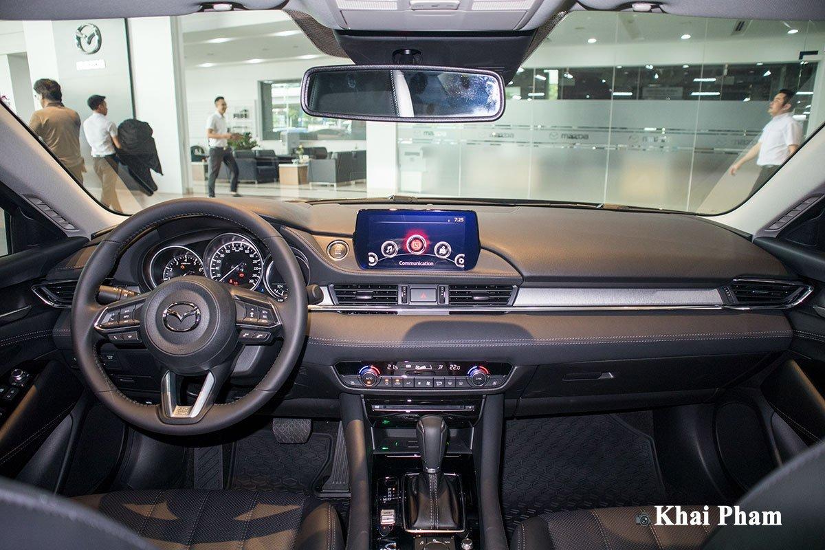 Nội thất xe Mazda 6 2021.