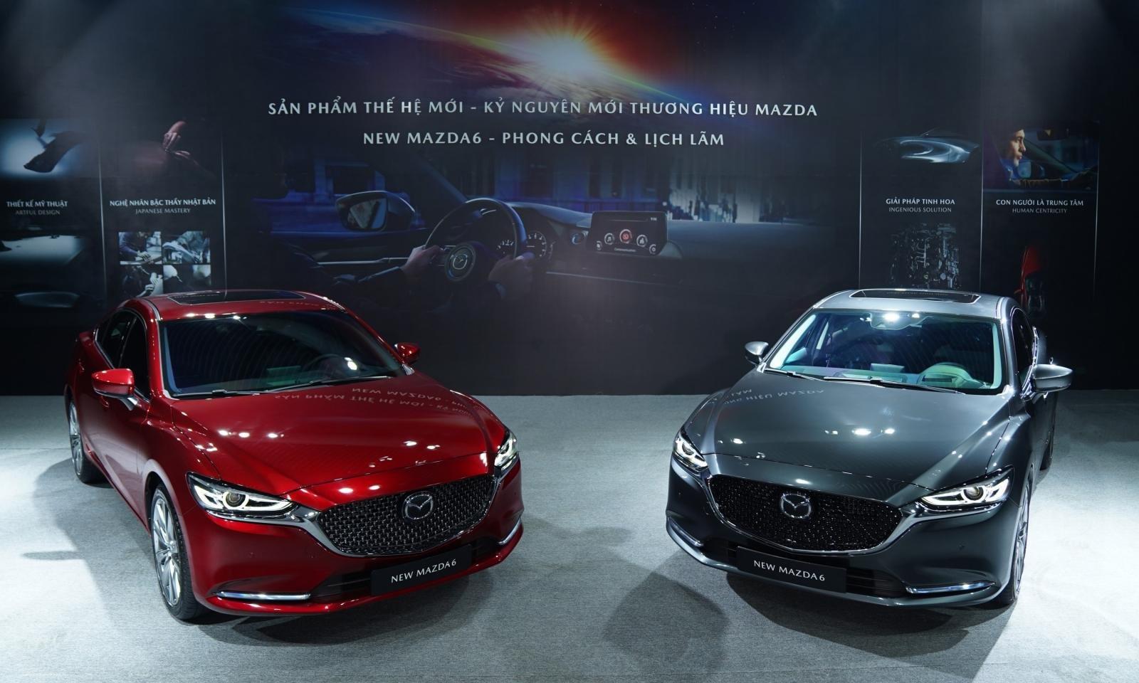 Giá xe Mazda 6 2021 â