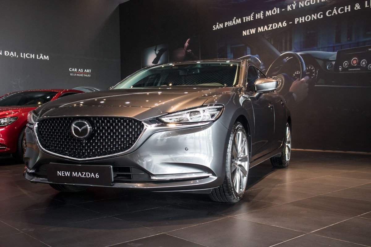 Ngoại hình của Mazda6 2020 có nhiều nét tương đồng với Mazda3 1