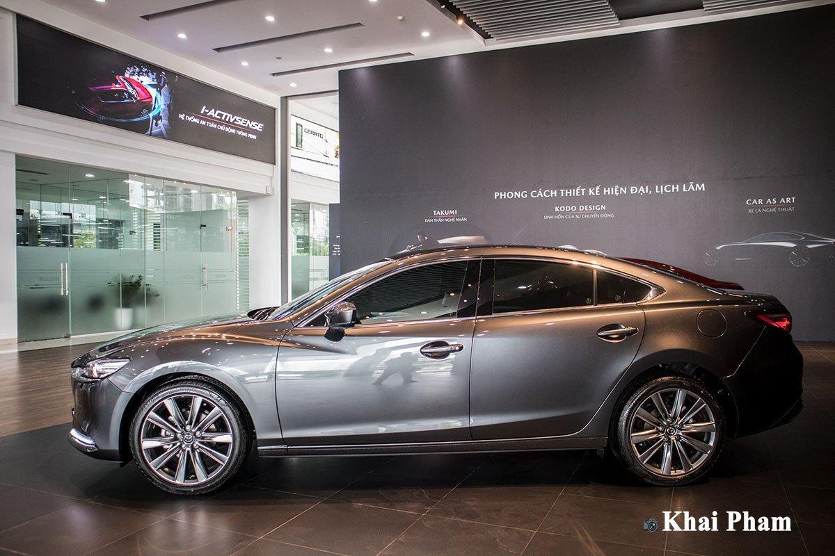Mazda 6 2020 cải tiến mạnh mẽ về khung, thân, hệ thống treo và lốp xe 1