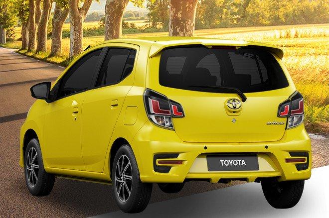 Toyota Wigo 2020 facelift tinh chỉnh nhẹ.