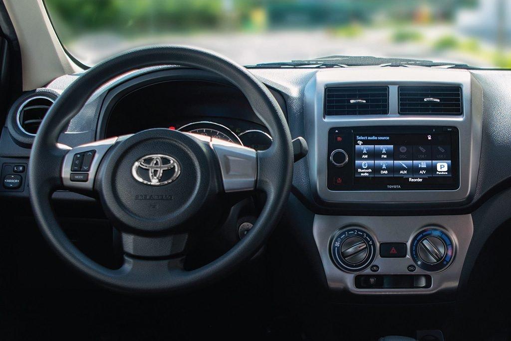 Toyota Wigo 2020 facelift bổ sung thêm trang bị.