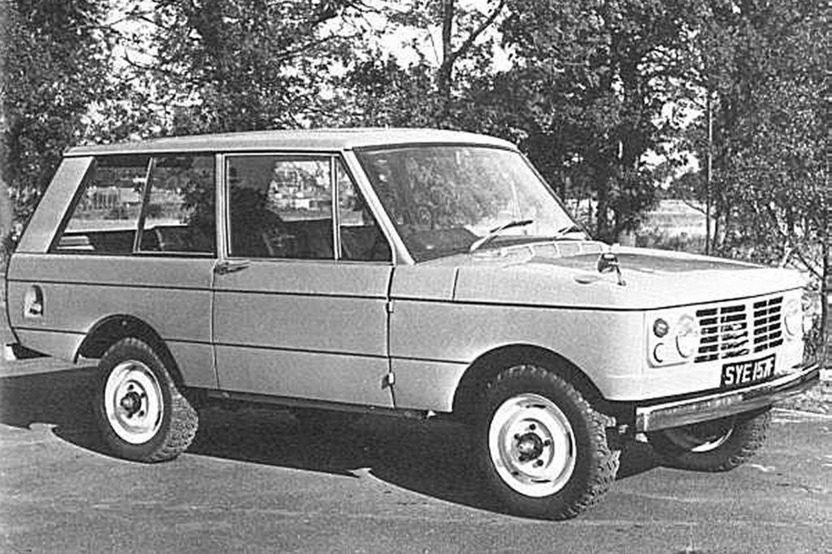 Nguyên mẫu 100 inch Station Wagon - tiền thân của Range Rover.