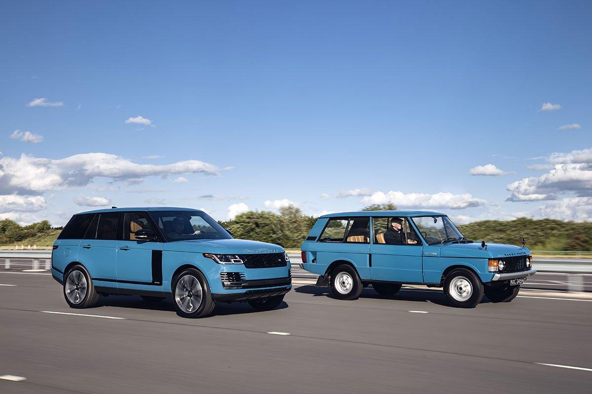 Range Rover có nhiều thành tựu dẫn đầu kể từ khi ra đời dòng xe này.