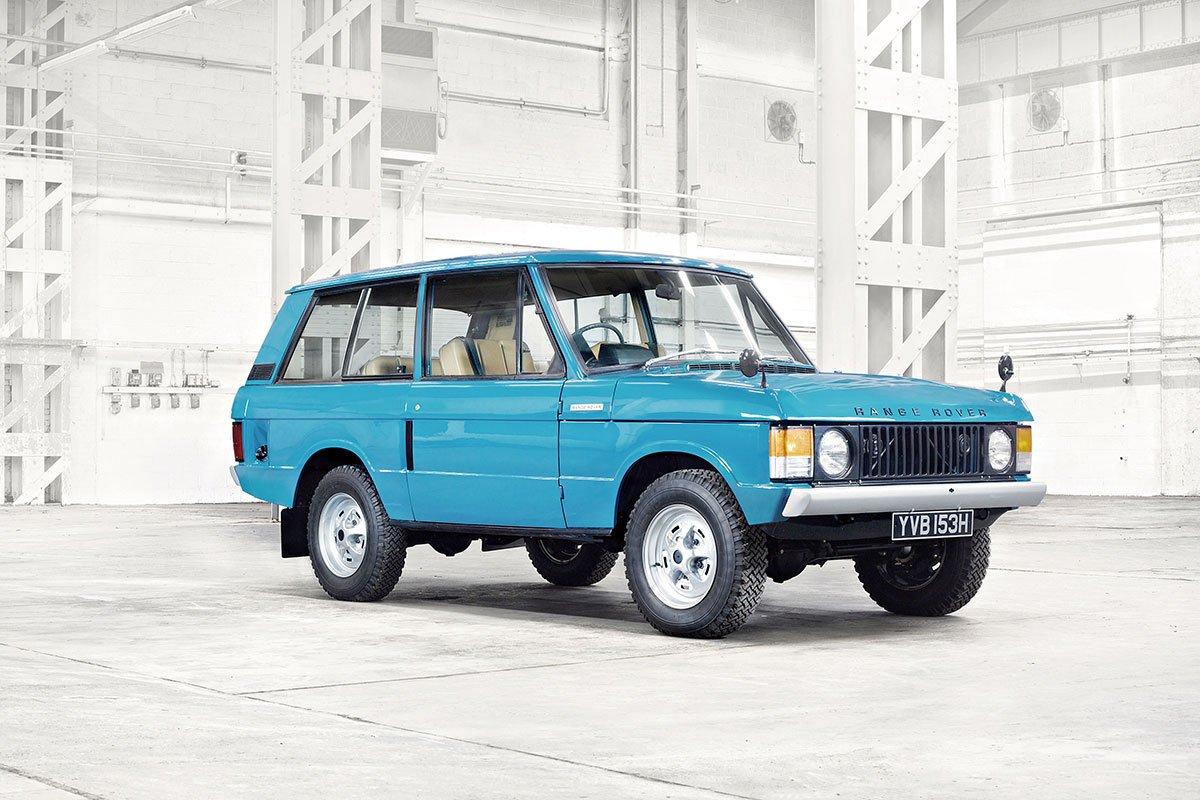 Thế hệ đầu tiên của dòng Range Rover.