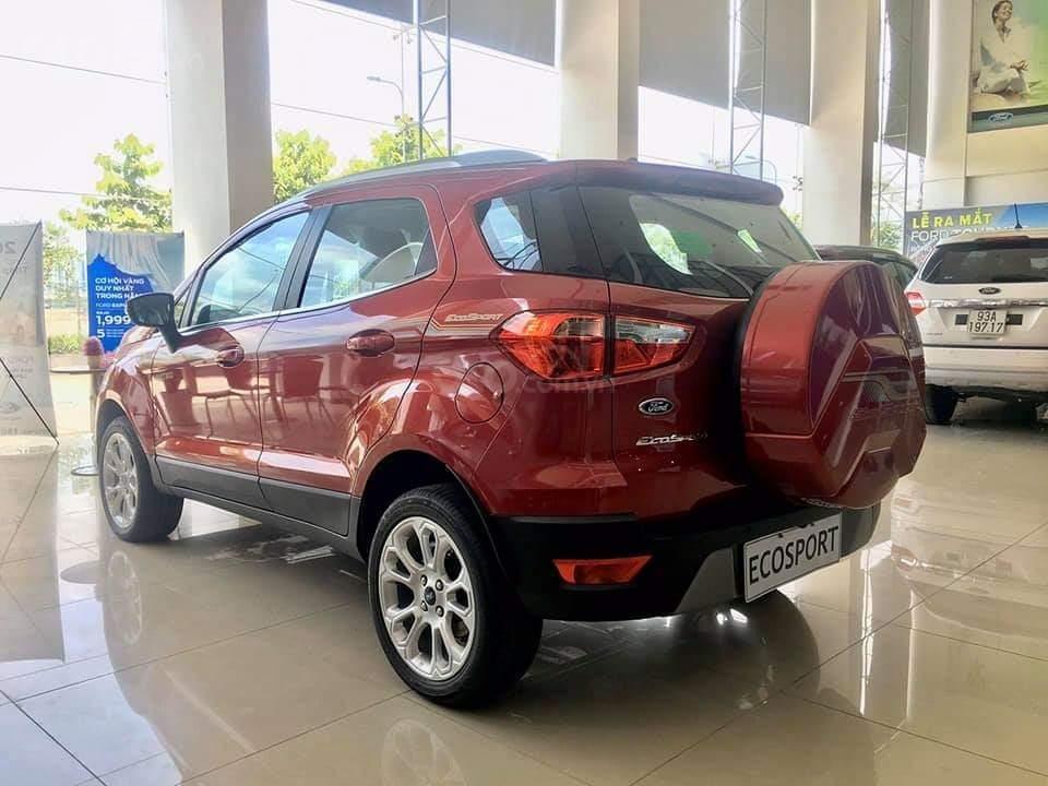 Ford Ecosport 2020 giao ngay - nhận xe chỉ với 150 triệu, giảm 50% thuế trước bạ, ưu đãi tiền mặt & PK lên đến 80 triệu (4)