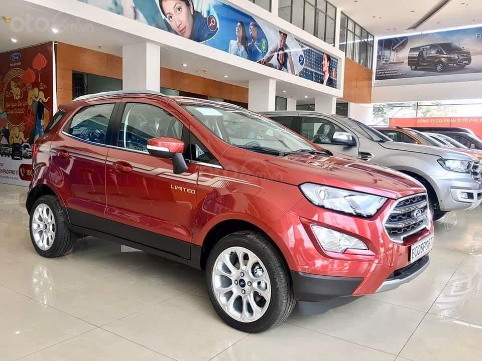 Ford Ecosport 2020 giao ngay - nhận xe chỉ với 150 triệu, giảm 50% thuế trước bạ, ưu đãi tiền mặt & PK lên đến 80 triệu (2)
