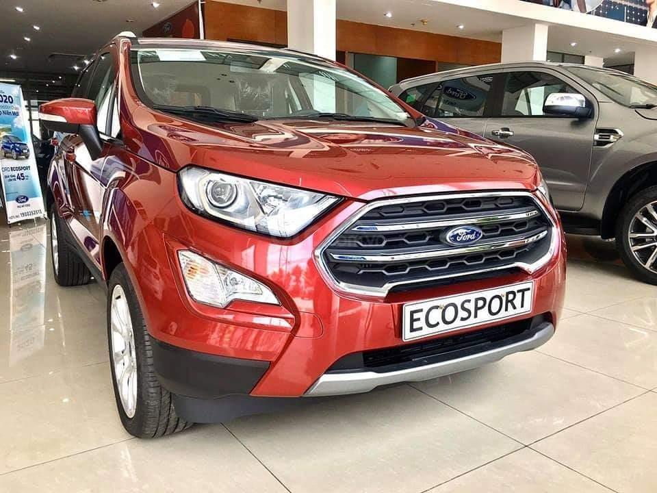Ford Ecosport 2020 giao ngay - nhận xe chỉ với 150 triệu, giảm 50% thuế trước bạ, ưu đãi tiền mặt & PK lên đến 80 triệu (1)