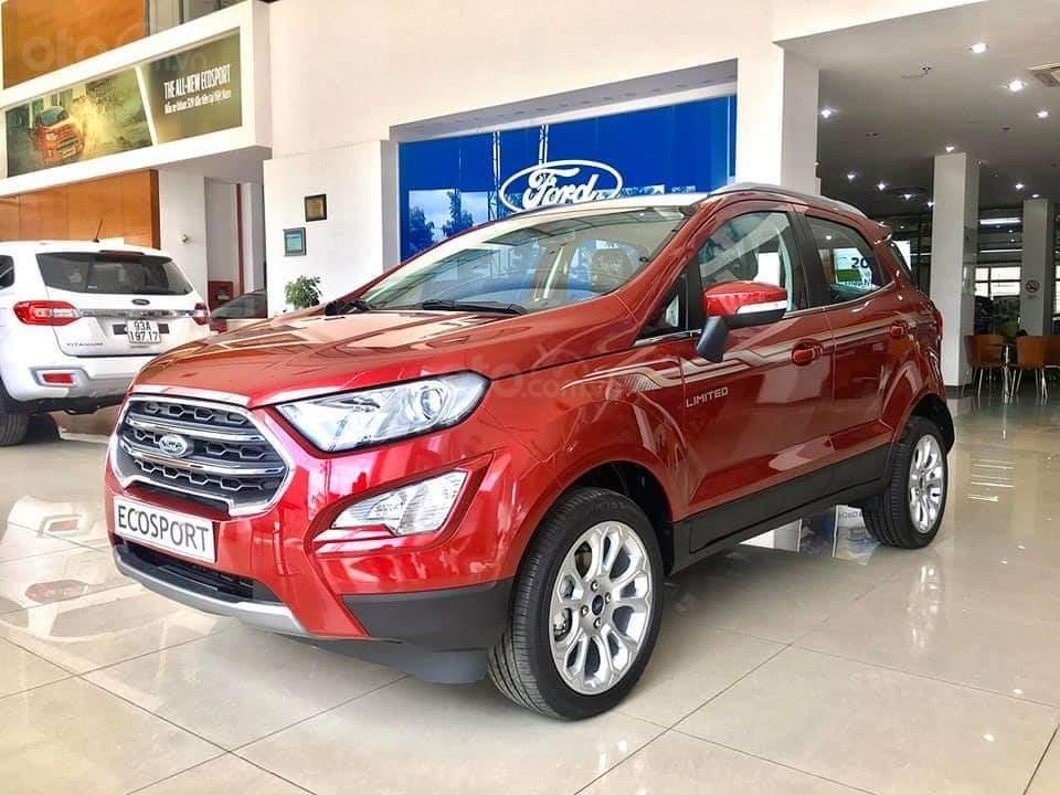 Ford Ecosport 2020 giao ngay - nhận xe chỉ với 150 triệu, giảm 50% thuế trước bạ, ưu đãi tiền mặt & PK lên đến 80 triệu (6)