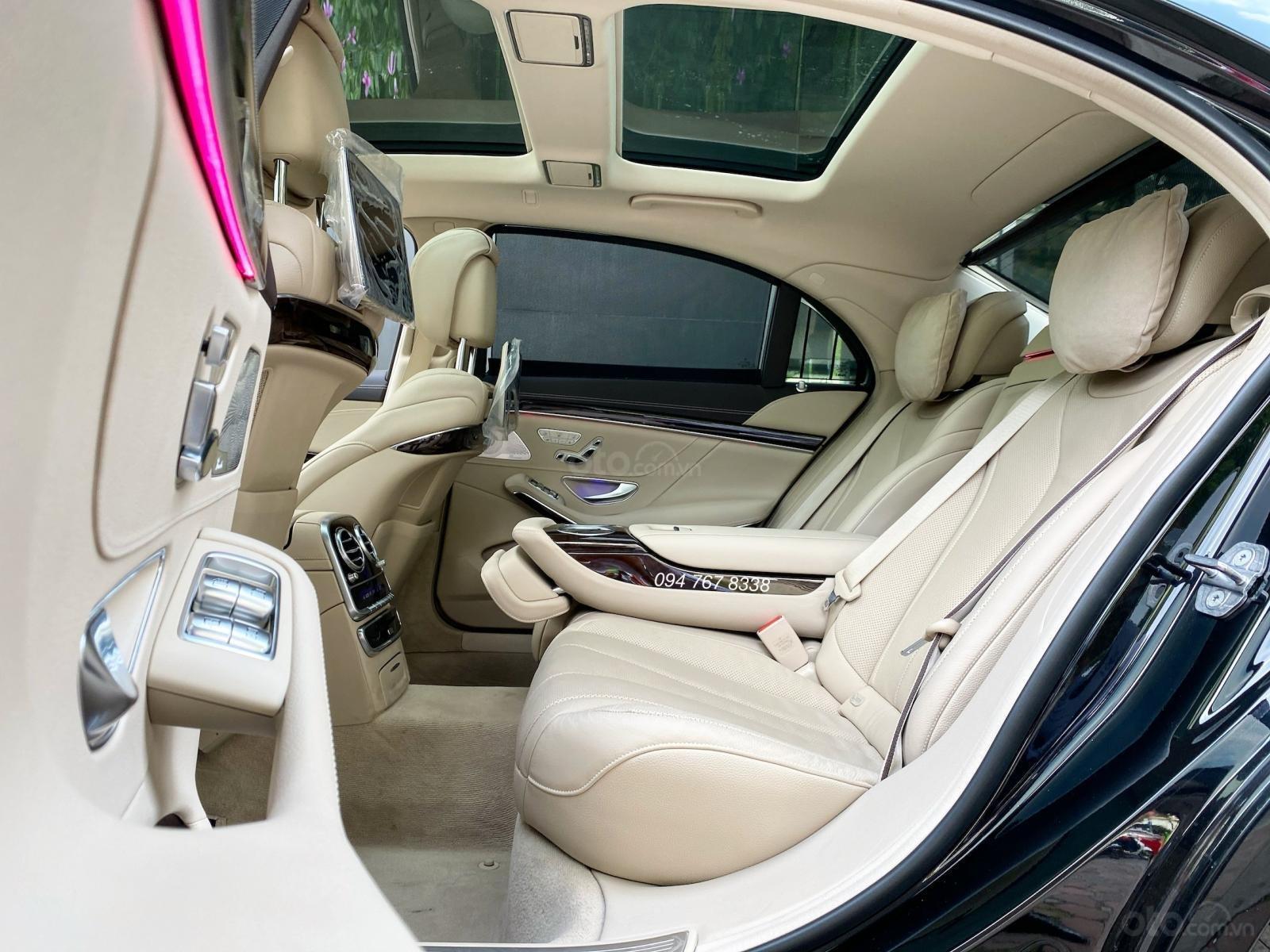 Bán Mercedes S450L 2020 đen, nội thất kem siêu lướt, chính chủ, biển đẹp rẻ hơn mua mới 650tr (8)