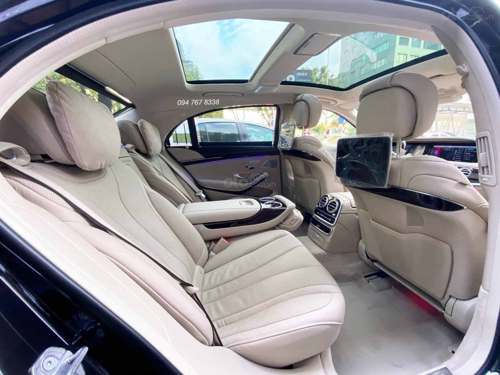 Bán Mercedes S450L 2020 đen, nội thất kem siêu lướt, chính chủ, biển đẹp rẻ hơn mua mới 650tr (9)