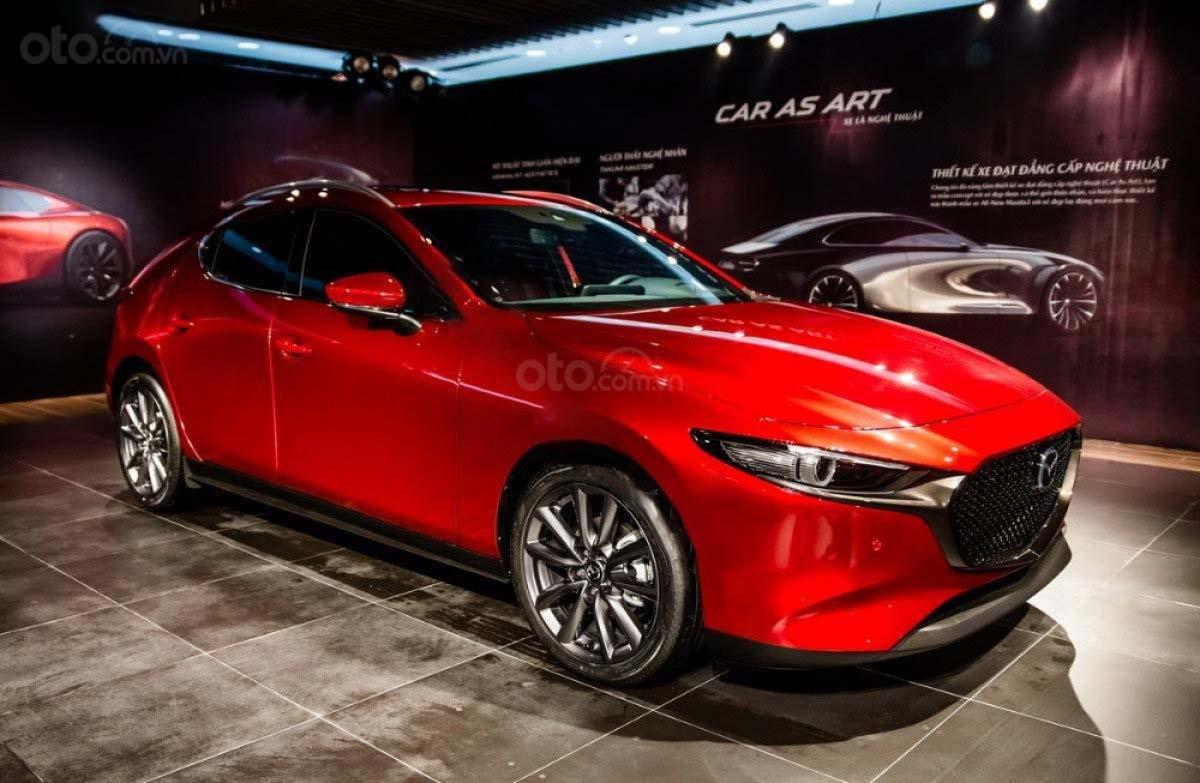 Bán xe Mazda 3 sản xuất năm 2019, màu đỏ (1)