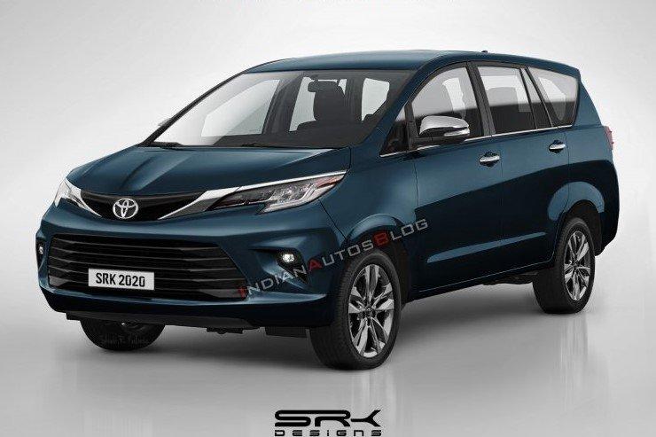 Ảnh phác họa Toyota Innova 2021 facelift nâng cấp mới..