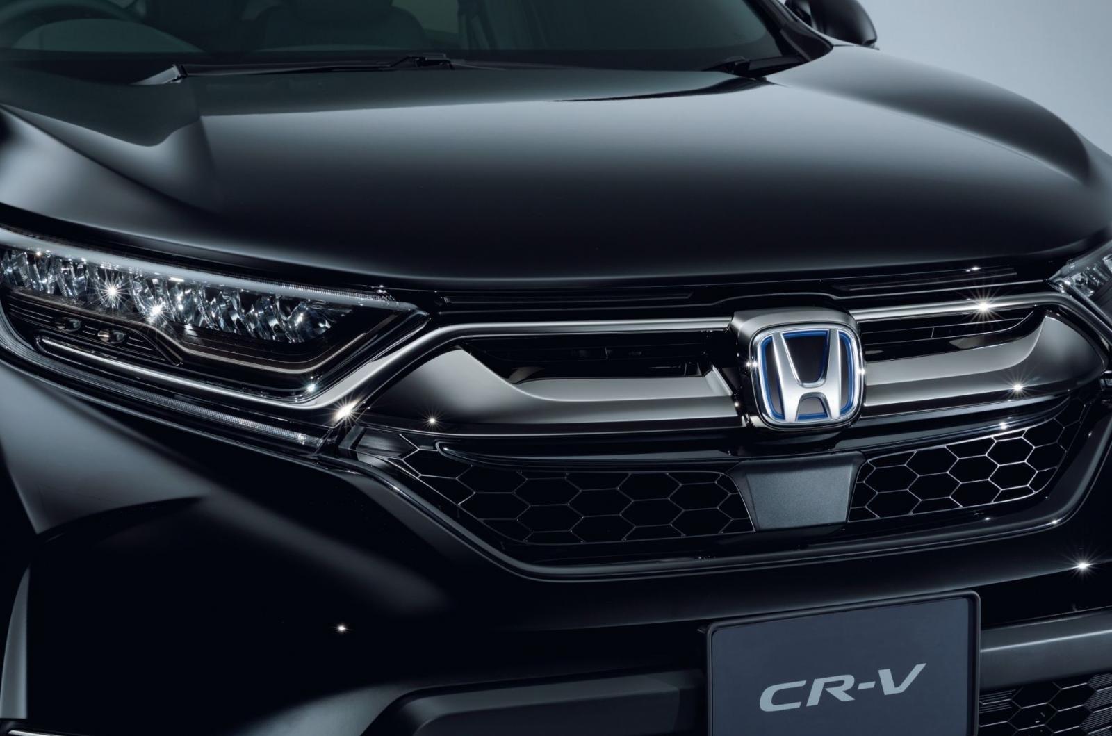 Thiết kế đầu xe Honda CR-V Black Edition 1