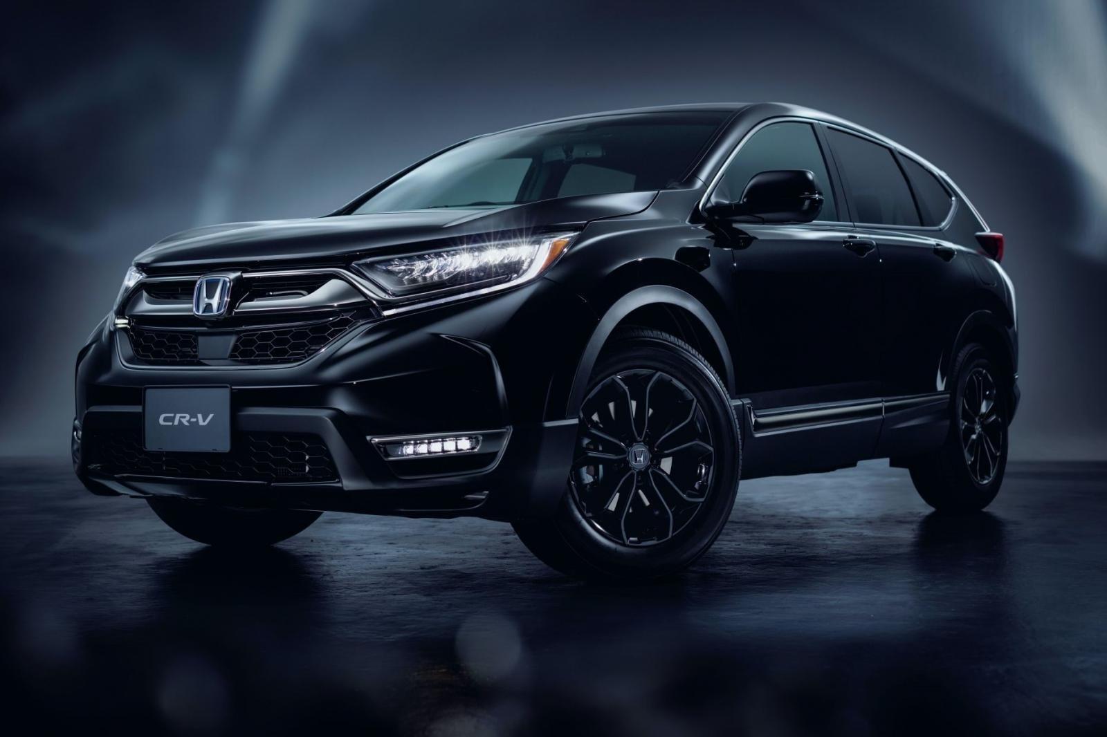 Honda CR-V Black Edition dành riêng cho thị trường Nhật Bản 1