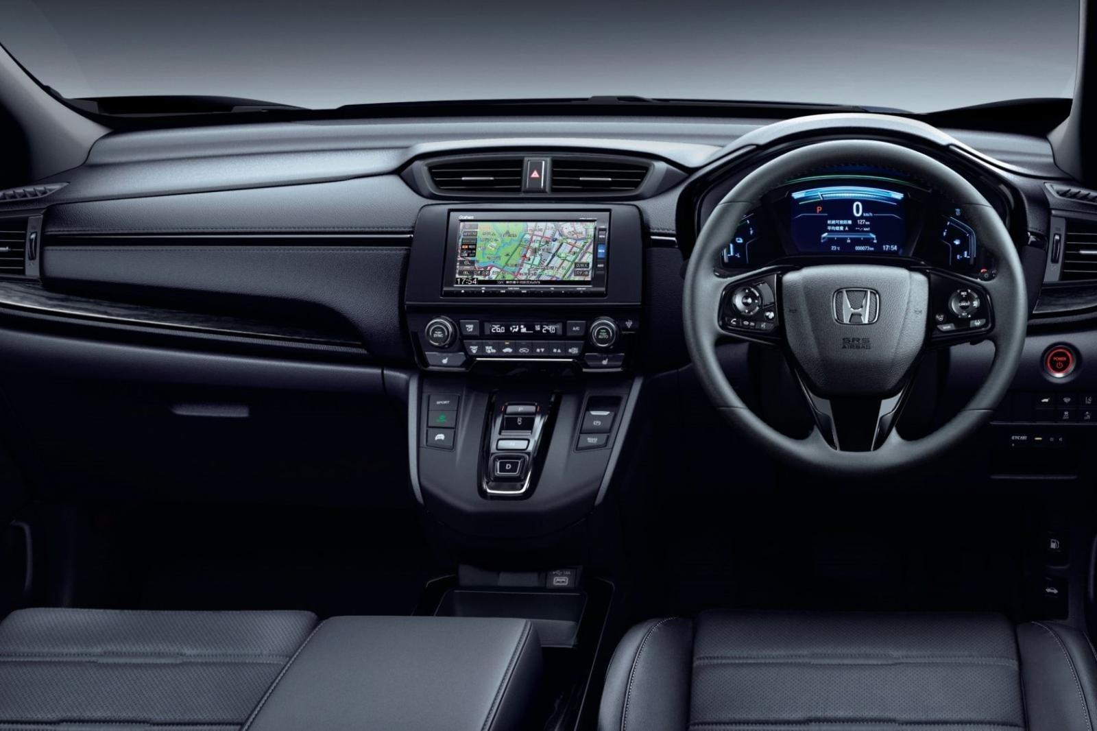 Không gian nội thất Honda CR-V Black Edition 1