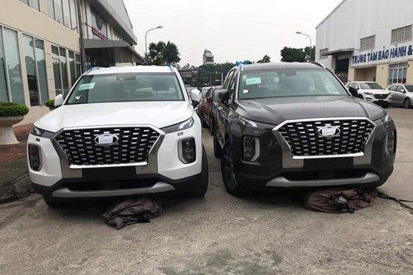 Lô xe Hyundai Palisade từng cập bến Việt Nam năm ngoái 1