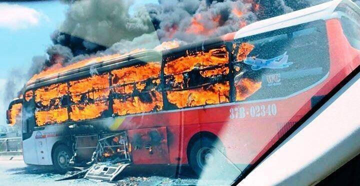 Cháy xe ô tô trên cao tốc liên tiếp xảy ra trong những ngày gần đây.