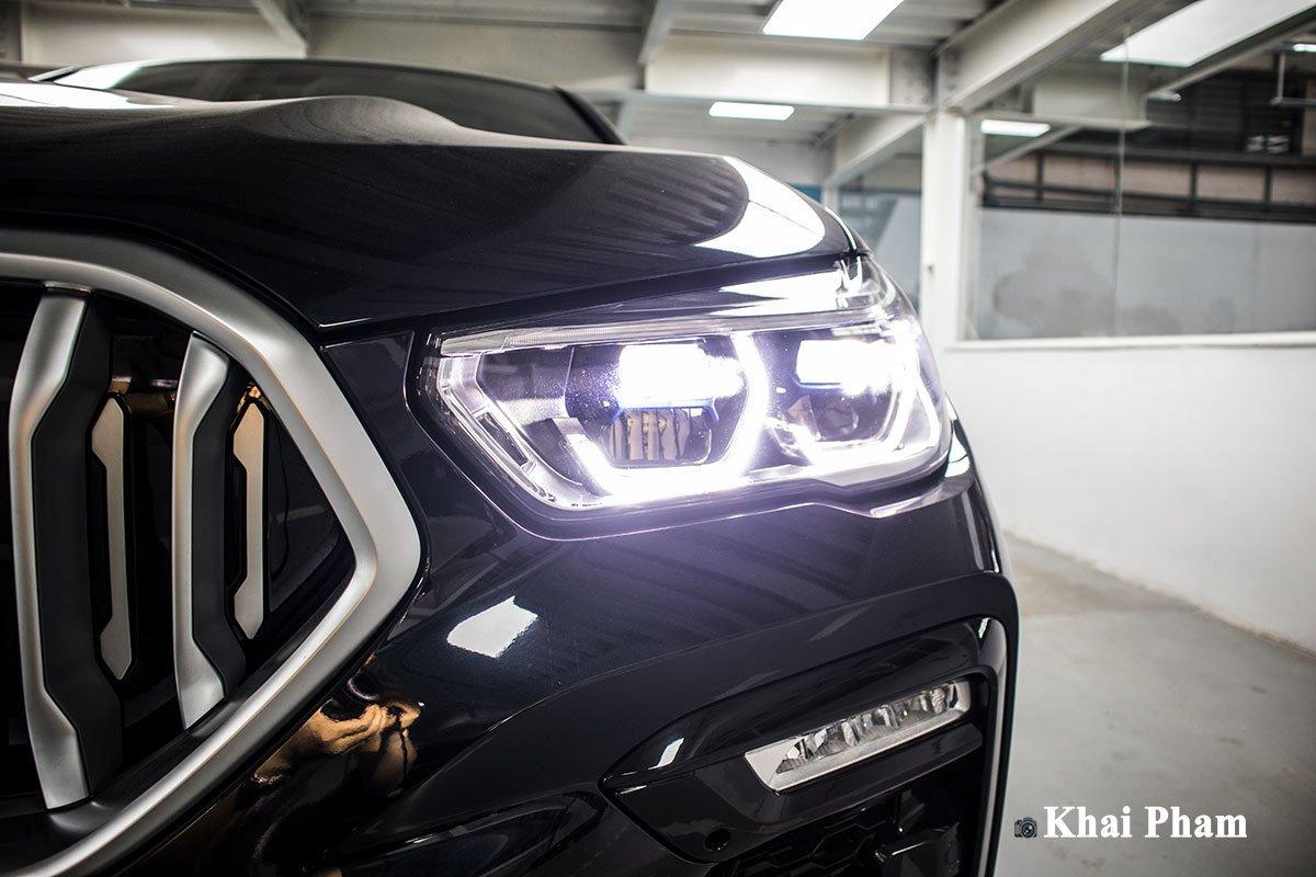 Ảnh đèn pha xe BMW X6 2020 q1