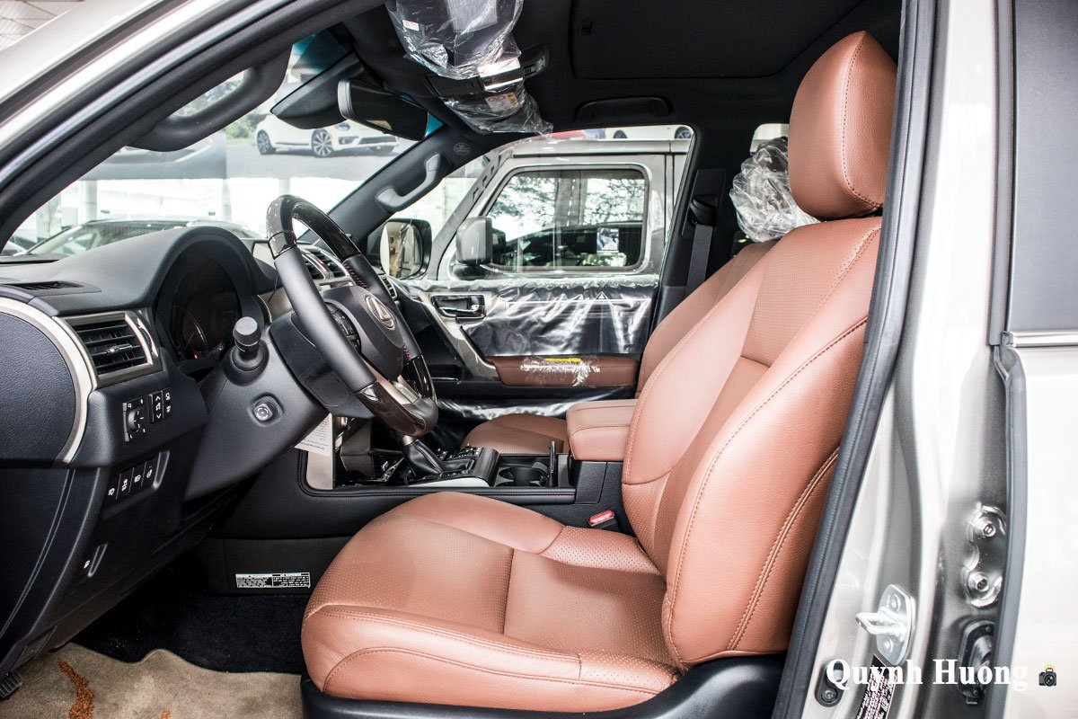 Ảnh ghế lái xe Lexus GX 460 2020